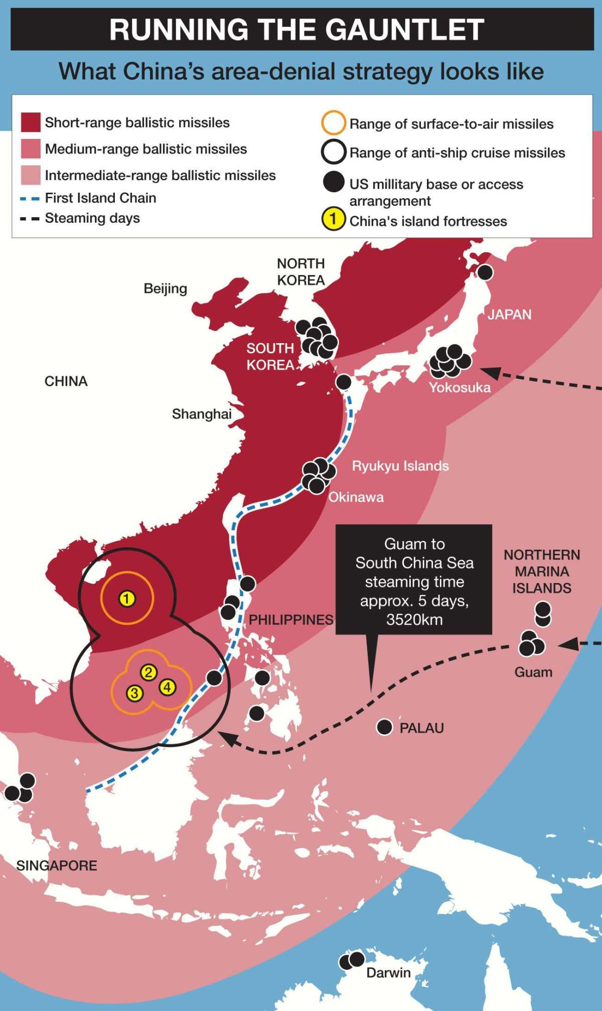 Scary vision of all-out war between China and the US – With the rise of China's military strength, US strategists are working hard to predict how a war would play out. And it doesn't lookgood.